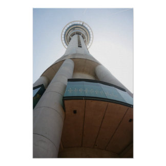 Auckland Sky Tower Poster