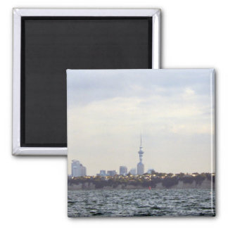 Auckland Skyline Refrigerator Magnet