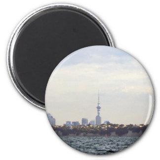Auckland Skyline Fridge Magnets
