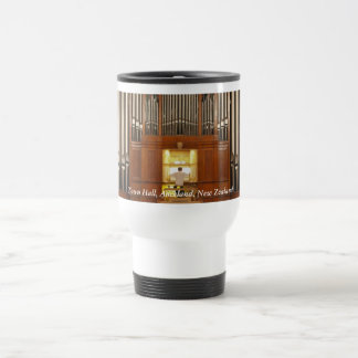 Auckland Town Hall pipe organ Travel Mug