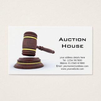 Auction House Business Card