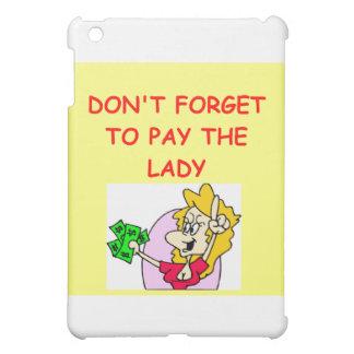 auction joke iPad mini case
