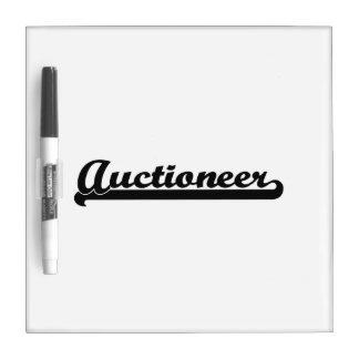 Auctioneer Classic Job Design Dry-Erase Boards