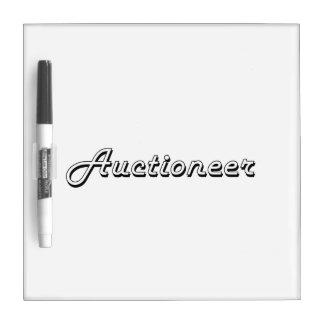 Auctioneer Classic Job Design Dry Erase Boards