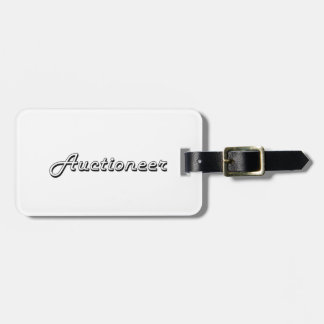 Auctioneer Classic Job Design Bag Tags