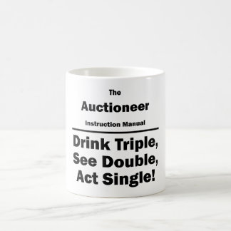 Auctioneer Coffee Mug