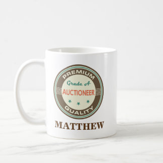 Auctioneer Personalized Office Mug Gift