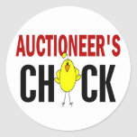 Auctioneer's Chick Stickers