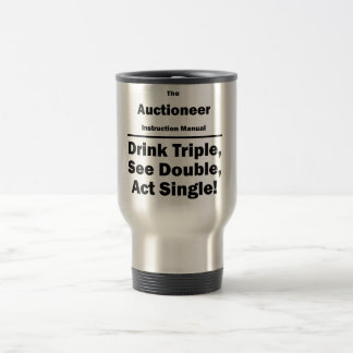 Auctioneer Travel Mug