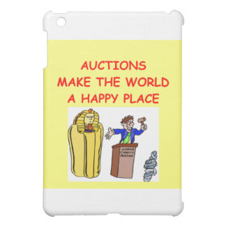 auctions iPad mini cover