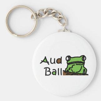 Aud Ball Frog logo Key Chain