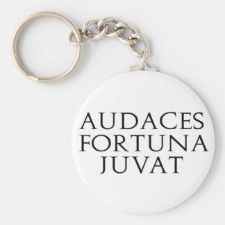 Audaces Fortuna Juvat Llavero