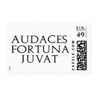 Audaces Fortuna Juvat Postage Stamps