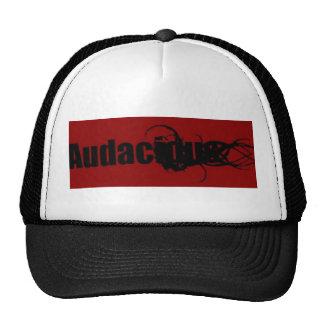 audacious design 3 trucker hat