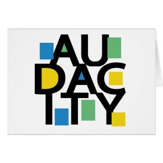 Audacity Card