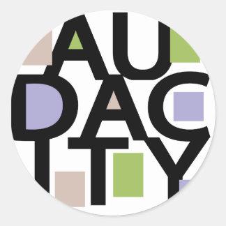 Audacity Classic Round Sticker
