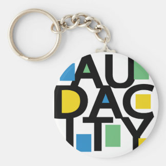 Audacity Keychain