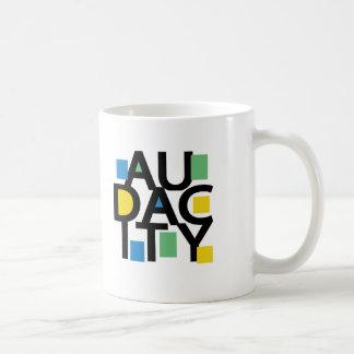 Audacity Classic White Coffee Mug