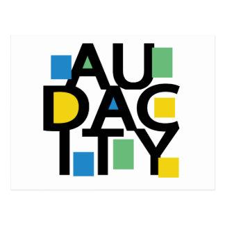 Audacity Postcard