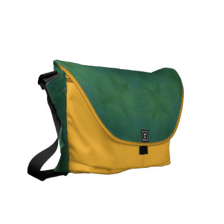 AudArrt Rickshaw Messenger Bag - Aloe & Lemon
