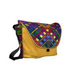 AudArrt Rickshaw Messenger Bag - Bright Weave