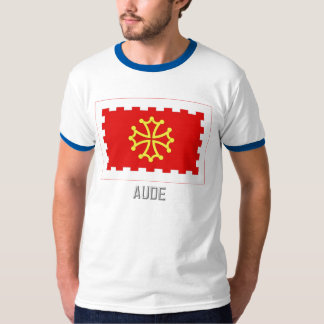 Aude flag with name T-Shirt