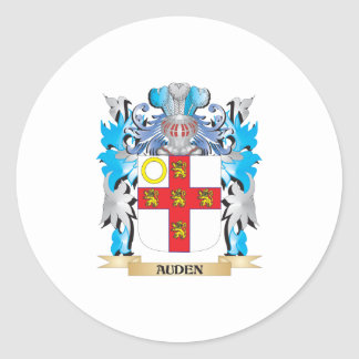 Auden Coat Of Arms Stickers