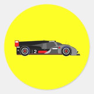 Audi R18 TDI Classic Round Sticker