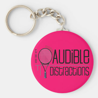 Audible Distractions Team Keychain