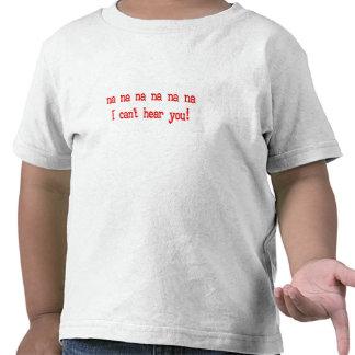Audición - empeorada camisetas