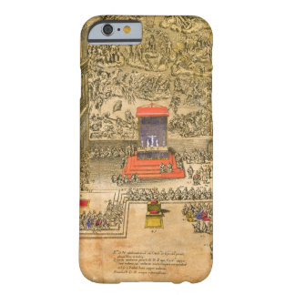 Audience Chapel at the Vatican (colour engraving) Barely There iPhone 6 Case
