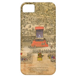 Audience Chapel at the Vatican (colour engraving) iPhone SE/5/5s Case