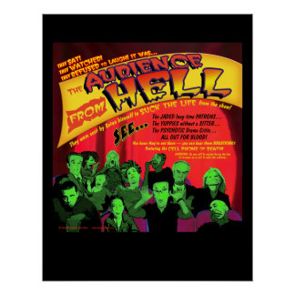 Audience From Hell Theater Poster