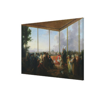 Audience Given in Constantinople Canvas Print