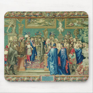 Audience Granted by Louis XIV  to the Count Mouse Pad
