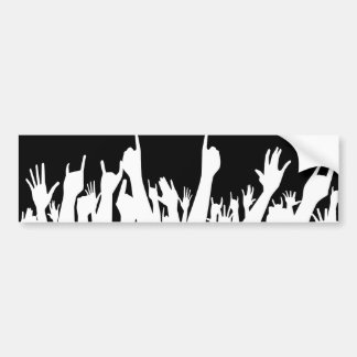 Audience Poster Background Bumper Sticker