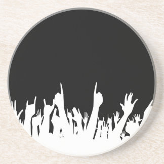 Audience Poster Background Sandstone Coaster