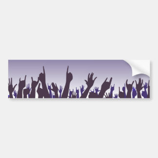 Audience Reaction Bumper Sticker