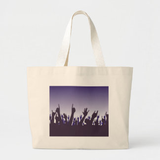 Audience Reaction Large Tote Bag