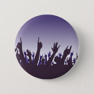 Audience Reaction Pinback Button