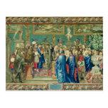 Audiencia concedida por Louis XIV a la cuenta Tarjeta Postal