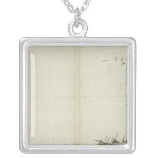Audierne, rade de Brest Silver Plated Necklace