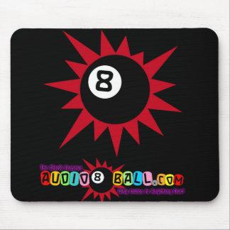 """Audio8ball.com """"8ball"""" Mousepad Alfombrilla De Ratones"""