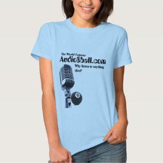 Audio8ball.com mic and 8ball Shirt