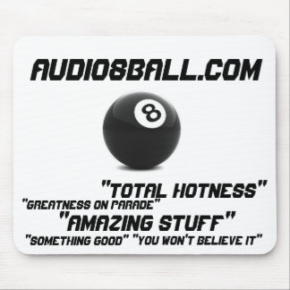 Audio8ball.com Mousepad Alfombrillas De Ratón
