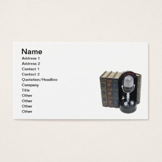 Audio Books Business Card