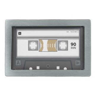 Audio Cassette Belt Buckle