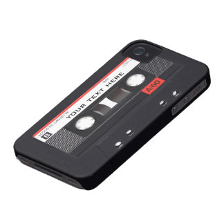 Audio Cassette iPhone 4/4S Case-Mate Barely There