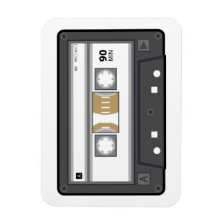 Audio Cassette Magnet