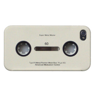 Audio Cassette Tape iPhone 4 Case Savvy Glossy